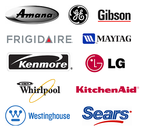 appliance brands serviced